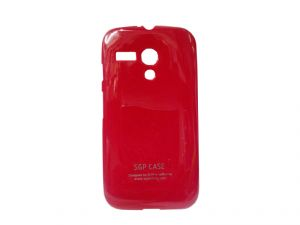 Sgp Red Mobile Back Cover For Motorola Moto G