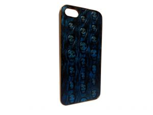 Kelpuj Blue Mobile Back Cover For Apple iPhone 5g