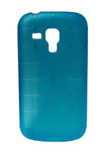 Kelpuj Rubber Blue Back Cover For Samsung Galaxy S Duos S7562 - Kel-as29606832