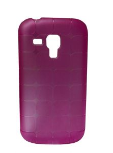 Kelpuj Rubber Pink Back Cover For Samsung Galaxy S Duos S7562 - Kel-as29606834