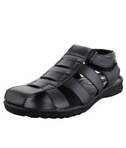 Elvace Black Stripper Sandals_p