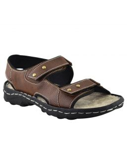 Sandals (Men's) - Elvace Brown Brio sandal Men Shoes-4008
