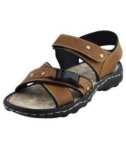 Elvace Tan Dukkal Sandal Men Shoes-4014