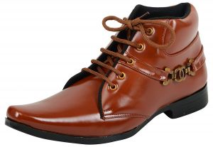 Elvace Tan Men Boot-5020