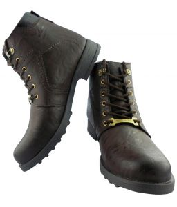 Elvace Comfortable Golden Boot-5022