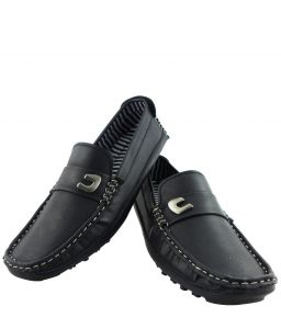 Elvace Loafer Men Shoes Black -6007