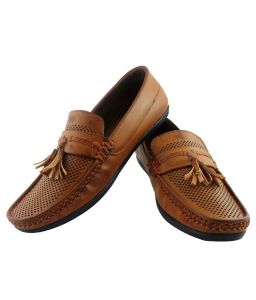Elvace Tan Eighteen Plus Loafer-6013