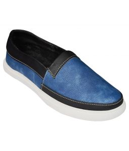 Elvace Blue Talent Loafer Men Shoes-6026