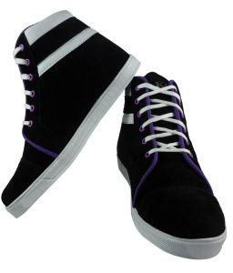 Elvace Black Men Sneakers-7014