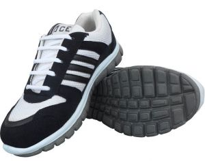 Sport Shoes (Men's) - Elvace White-Black Sixers Sports Shoes-8012