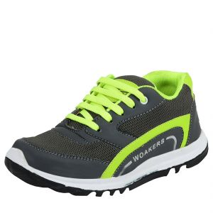 Elvace Grey Running Shoe For Men (code- 8034)