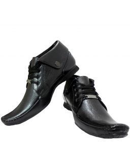 Elvace Black Comfy Formal Mens Shoes-9007