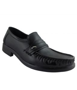Elvace Black Gentleman Formal Men Shoes_p