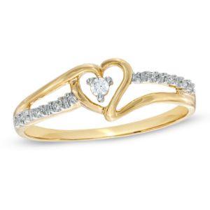Buy Sheetal Diamond 0 15tcw Natural Round Cut Diamond Nakshatra Ring