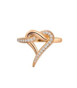 Sheetal Diamonds0.20tcw Natural Round Cut Diamond Unique Party Wear Ring R0438-18k