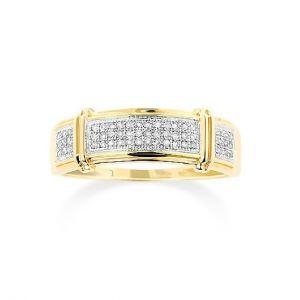 Sheetal Diamonds 0.70TCW Real Round Cut Diamond Wedding Ring R0631-10K