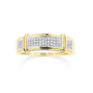 Sheetal Diamonds 0.70TCW Real Round Diamond Ring In Yellow Gold R0631-18K
