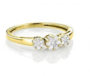 Sheetal Diamonds 0.70TCW Real Round Diamond Engagement Ring R0642Y-18K