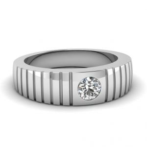 Sheetal Diamonds 0.20TCW Real Round Diamond Party Wear Ring R0709-18K