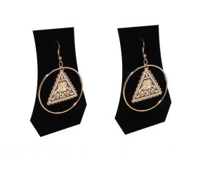 Fashblush Forever New Floral Triangles Alloy Dangle Earring Fb20144