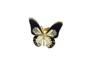 Fashblush Pretty Bauble Butterfly Cocktail Alloy Ring