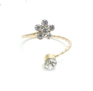 Fash Blush Forever Gemstone Bliss Alloy Ring