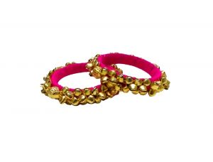 0ce6eacf74b FashBlush Forever Glam Ghungroo Bedazzled Shine Alloy Bangle Set FB26019. Rs.999  ...
