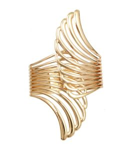 Fashblush Forever New Angel Winged Glamor Hand Alloy Cuff