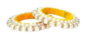 Gemstone Bangles, Bracelets - FashBlush Alloy Bangle Set(Pack of 2)