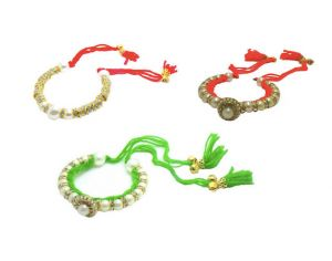Fashblush Bracelet Set Antique Handmade Shine (set Of 3) (product Code - Fb26101)
