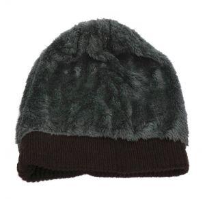 Caps (Men's) - FashBlush Woven Unisex Beanies With Faux Fur Cap  (Product Code - FB54028)