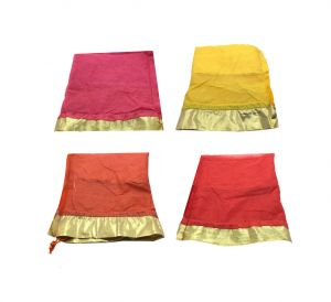 Fashblush Multicolor Shagun Gift Party Pouch Potlis (set Of 12) (code Fb68024)