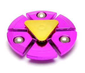 Fashblush Magenta Super Hero Marvel Style Fidget Hand Spinner
