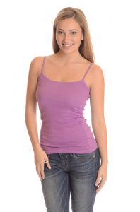 Comfty Stretchable Camisole Tank Tops - Purple