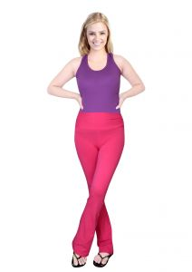 Comfty Ladies Yoga Pants Pink