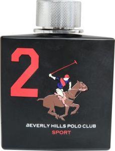 Beverly Hills Perfumes (Men's) - Beverly Hills Polo Club Sport No 2 Eau de Toilette - 100 ml(For Men)