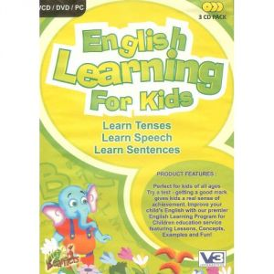 English Learning For Kids (3 CD Pack)