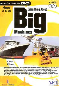 Every Thing About Big Machines (4 DVD Video)