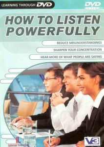 How To Listen Powerfully (dvd Video)