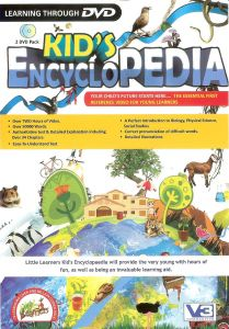 Educational, Reference Software - Kid's Encyclopedia (2 DVD Pack)