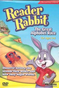Reader Rabbit The Great Alphabet Race (ages 3-6)
