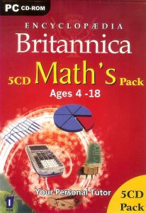 Educational, Reference Software - Encyclopedia Britannica - Math's Pack ages 4-18