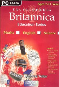 Educational, Reference Software - Encyclopedia Britannica - Maths / English / Science