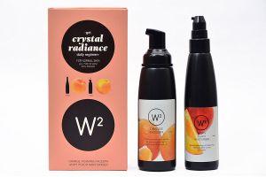 Face Packs, Scrubs, Washes - W2 Crystal Radiance Orange for Normal Skin (Set of 2)
