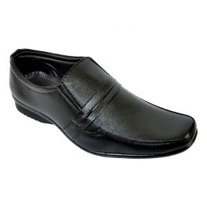 Altek Designer Shiny Black Formal Shoe (product Code - Foot_1431_black)