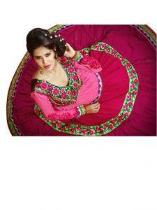 Sinina Anarkali Suits (Unstitched) - Sinina Multi Colour Georgette Salwar Kameez Suit Semi Stitched Dress Material 100Tangy111