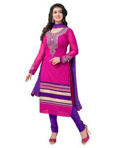 Sinina Dress Materials (Singles) - Sinina Georgette Salwar Kameez Suit Untitched Dress Material-117Tangy1008