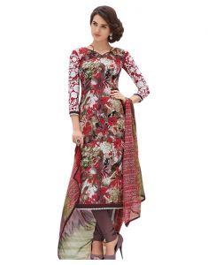 Sinina Multi Color Un Stitched Pure Crepe Dress Material (code - 123tangy6414a)