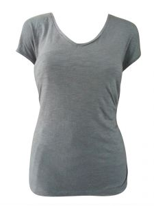 Sinina Grey Casual Printed Cotton Top-t10