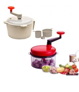 Food Processors - Omrd Kitchen Chop-n-churn Food Processor & Dough Maker